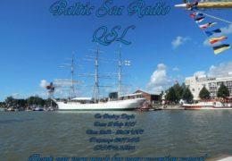 e-QSL Baltic Sea Radio Финляндия Июль 2017 года