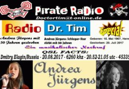 e-QSL Radio Doctor Tim Нидерланды Август 2017 года