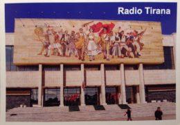 QSL Radio Tirana Албания Январь 2017 года