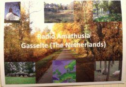 QSL Radio Amathusia Нидерланды Сентябрь 2017 года