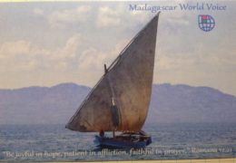 QSL Madagascar World Voice KNLS Мадагаскар Октябрь 2016 — Март 2017 года