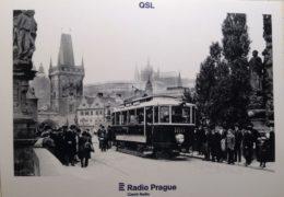 QSL Radio Prague Чехия Радио Прага Октябрь 2017 года
