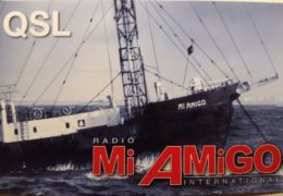 QSL Radio Mi Amigo International Германия Октябрь 2017 года