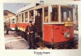 QSL Radio Prague Чехия Радио Прага Октябрь Ноябрь 2017 года