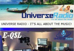 e-QSL Universe Radio Нидерланды Сентябрь 2017 года
