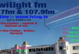 e-QSL Twilight FM Великобритания Декабрь 2017 года