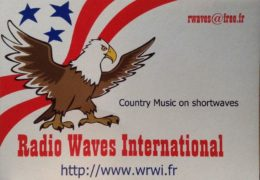 QSL Radio Waves International Франция Декабрь 2017 года