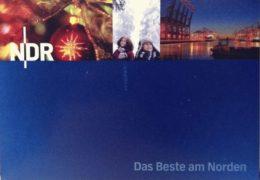 QSL Norddeutscher Rundfunk NDR Германия Декабрь 2017 года