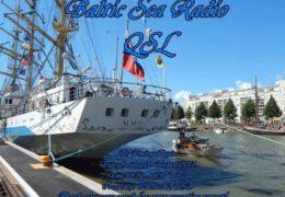 e-QSL Baltic Sea Radio Финляндия Август Сентябрь 2017 года