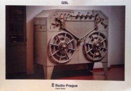 QSL Radio Prague Чехия Радио Прага Январь 2018 года