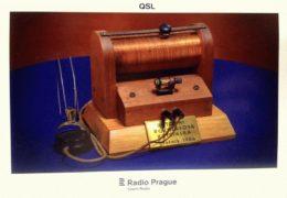 QSL Radio Prague Чехия Радио Прага Февраль Март 2018 года