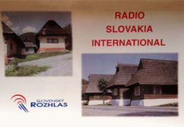 QSL Radio Slovakia International Словакия Март Апрель 2018 года