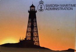 QSL Swedish Maritime Administration Швеция Май 2018 года