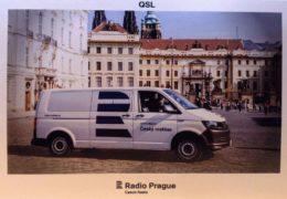 QSL Radio Prague Чехия Радио Прага Апрель 2018 года