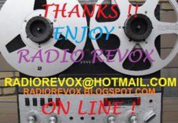 e-QSL Radio Revox Нидерланды Май 2018 года