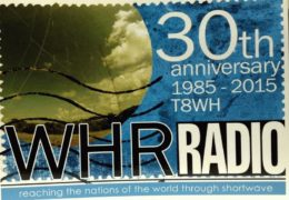 QSL T8WH World Harvest Radio Палау Май 2018 года