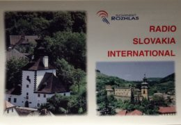 QSL Radio Slovakia International Словакия Май Июнь 2018 года