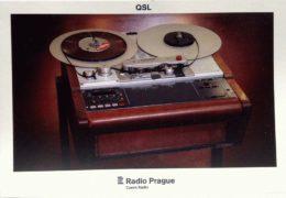 QSL Radio Prague Чехия Июль 2018 года