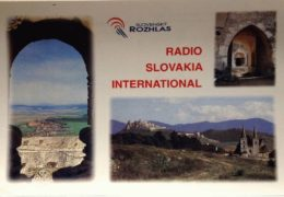 QSL Radio Slovakia International Словакия Август 2018 года
