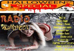 e-QSL Halloween Radio Германия 31 Октября 2018 года