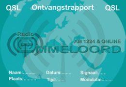 e-QSL Radio Emmeloord Нидерланды Германия Октябрь 2018 года