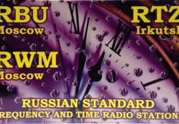 QSL RWM — Russian Time and Frequency Service Август 2018 года