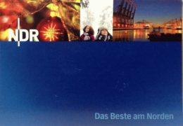 QSL Norddeutscher Rundfunk NDR Германия Декабрь 2018 года