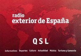 QSL Radio Exterior de Espana Испания 2016 — Октябрь 2018 года