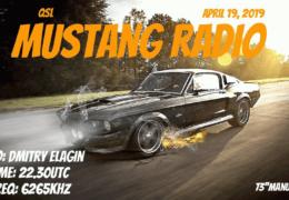 e-QSL Mustang Radio Нидерланды Апрель 2019 года