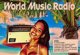 e-QSL World Music Radio Дания Июнь 2019 года