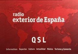 QSL Radio Exterior de Espana Апрель Июль 2019 года