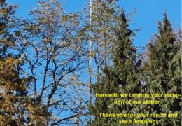 e-QSL Channel 292 Германия Январь 2019 — Ноябрь 2020 года