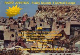 e-QSL Radio Joystick Австрия Ноябрь 2019 года