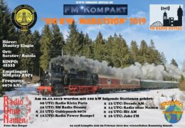 e-QSL 100 kW Marathon 2019 — Jake FM — Hit AM Австрия Декабрь 2019 года