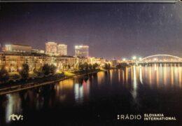 QSL Radio Slovakia International Словакия Декабрь 2019 года