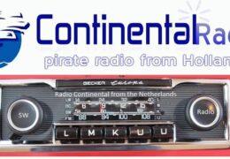 e-QSL Continental Radio Нидерланды Март 2020 года