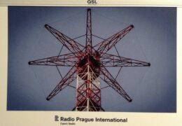 QSL Radio Prague Чехия Радио Прага Октябрь 2019 — Февраль 2020 года