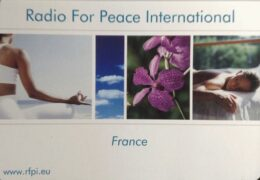 QSL Radio for Peace International Германия Франция Май 2020 года