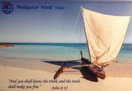 QSL Madagascar World Voice KNLS Мадагаскар Аляска Март 2021 года