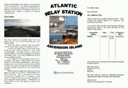 e-QSL BBC Antarctic Midwinter Broadcast Июнь 2020 года