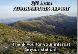 e-QSL Australian DX Report AWR Wavescan Май 2020 — Январь 2021 года