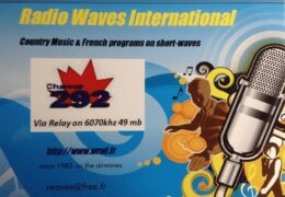 QSL Radio Waves International Германия Июль Август 2020 года