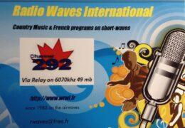 QSL Radio Waves International Германия Июль Август 2020 года