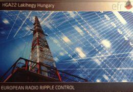 QSL EFR Teleswitch HGA22 Венгрия Германия Февраль 2020 года