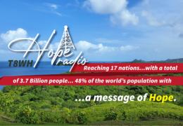 e-QSL Hope Radio T8WH Палау Январь 2021 года