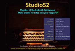e-QSL Studio 52 / Radio 60 Январь 2021 года