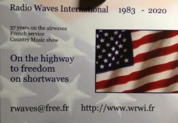 QSL Radio Waves International Германия Январь 2021 года