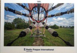QSL Radio Prague Чехия Ноябрь 2020 года