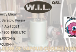 e-QSL W.I.L. Австрия Апрель 2021 года