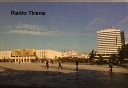 QSL Radio Tirana Албания Июль 2021 года
